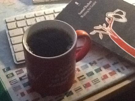 Foto Kaffeebecher vertikal